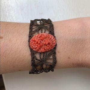 Crocheted bracelet from J. Jill